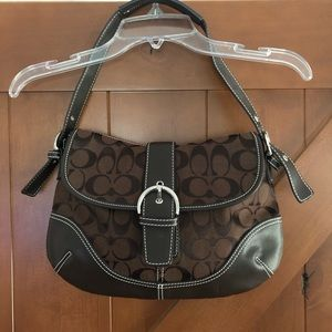 🌴 Coach Classic Hobo Bag with Dust Bag